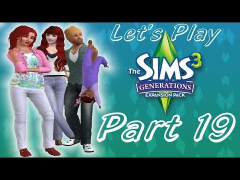 Let's Play: The Sims 3 Generations   Part 19   Learning To Drive