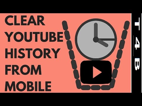 how to clear youtube search history from SmartPhone Mobile | delete youtube watch history Android