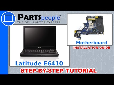 Dell Latitude E6410 Motherboard How-To Video Tutorial