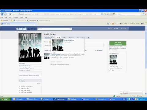 How to set up a Facebook page for your youth group