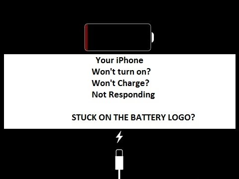How to Fix iPhone Stuck at Battery Logo