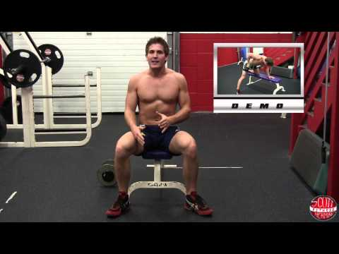 How To: Dumbbell Single-Arm Row (On Bench)
