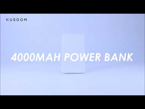 4000mah Imitation Leather Power Bank - Design Your Own