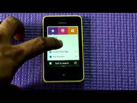 Review Nokia Asha 501 -- Software & OS