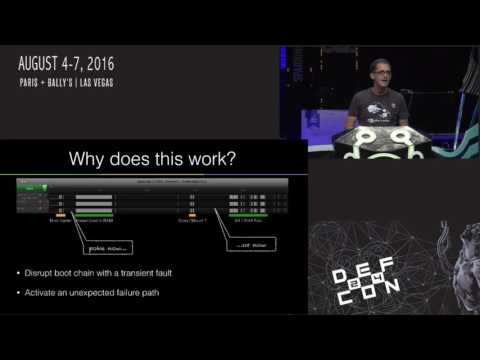 DEF CON 24 - Brad Dixon - pin2pwn: How to Root an Embedded Linux Box with a Sewing Needl