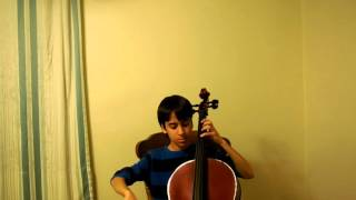 Cello -- C Major Scales -- Two Octaves -- Broken Thirds, Arpeggios, Chromatic Scales