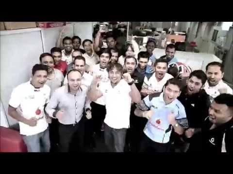 The Biggest Cibi by Vodafone Fiji Staff for RWC 2015