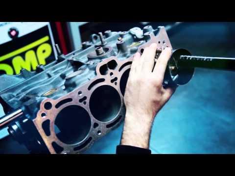 Junique Design 4age turbo engine build