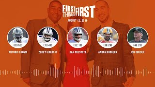 First Things First Audio Podcast(8.12.19) Cris Carter, Nick Wright, Jenna Wolfe | FIRST THINGS FIRST