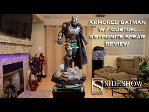 Sideshow Collectible's Armored Batman w/ Custom Kryptonite Spear Review