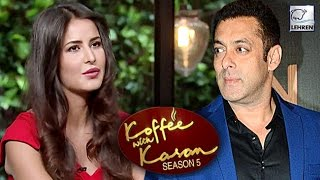 Katrina Kaif OPENS UP About Salman Khan On Koffee With Karan! | LehrenTV