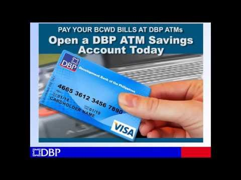 BCWD DBP ATM payment