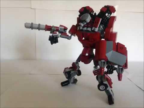 Lego Transformer #8 - TANK
