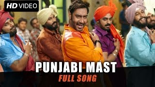 Punjabi Mast (Uncut Video Song) | Action Jackson | Ajay Devgn, Sonakshi Sinha