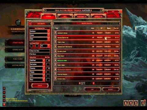 Diablo 3 - Millionaire Guide (Auction House Flipping / GF Helms) - Part 1