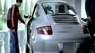 Porsche commercial