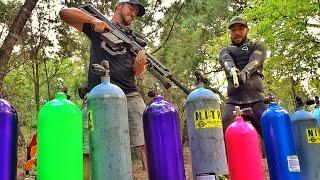 FULL Scuba Tanks vs 50cal!!! ft Jiggin w/ Jordan
