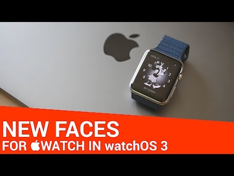 All the New Watch Faces in watchOS 3