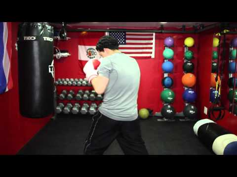 Boxing Tip: How To Move Around The Punching Bag