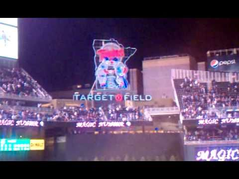 Twins win! ...a game...and then later, division