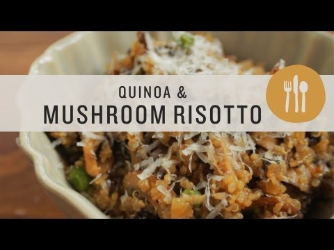 Quinoa and Mushroom Risotto - Superfoods