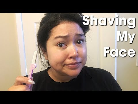 Shaving Your Face || The Savvy Beauty