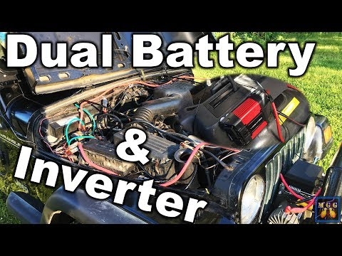 How to Wire a Dual Battery and Power Inverter Setup