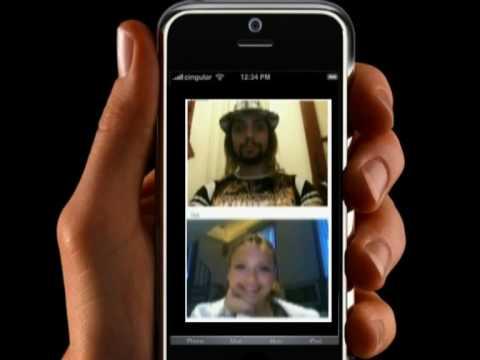 App Chatroulette pour/para Iphone 4G HD DualCam (2 Camera) - Jesus Copyright & Jessica Alba