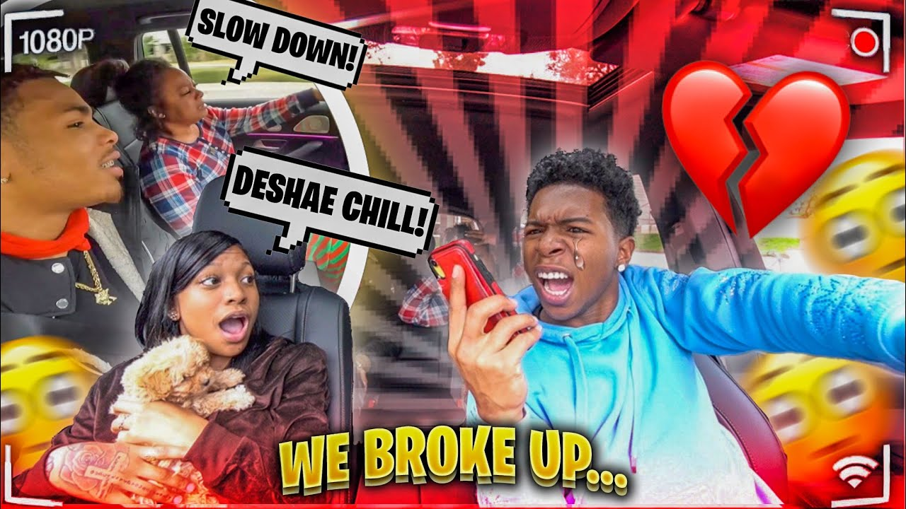 WE BROKE UP....AND IM GOING CRAZY! *My Mom Cried*