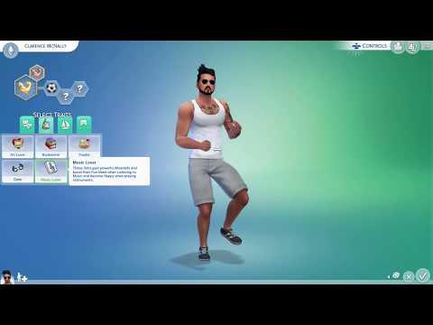 The Sims 4 Console (PS4): Create A Sim
