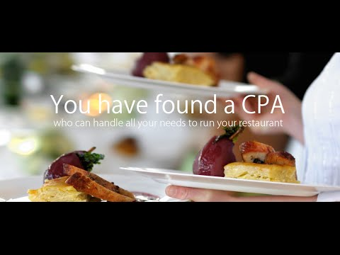 Restaurant Accounting and Bookkeeping DC