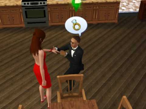 sims 3 - getting engaged