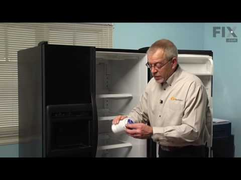 Amana Refrigerator Repair – How to replace the Water Filter