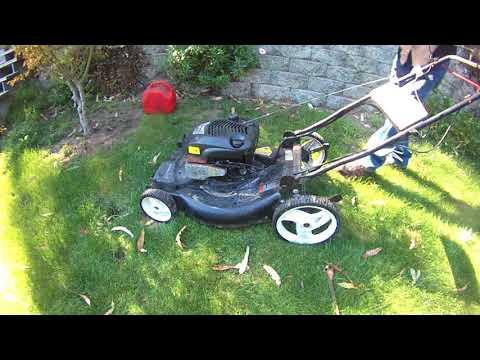 Garbage Picked Mower - Will It Run?