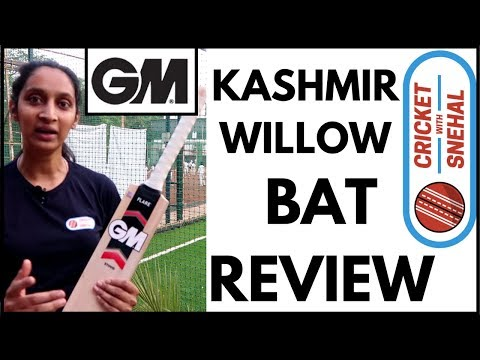 GM Kashmir Willow Bat | Unboxing and Review | Which Bat To Buy? | Best Bat | Cricket with Snehal