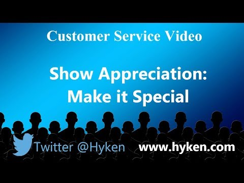 Make an Impact - Show Appreciation to Your Customers (and Colleagues)
