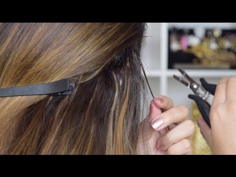 How to: Remove Hair Extensions at Home!! SUPER EASY TUTORIAL!!!