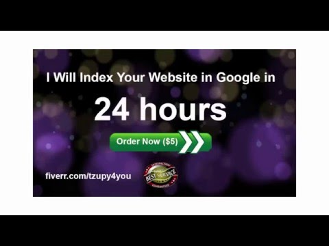 I will Index Your Website in Google In 24 Hours