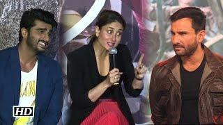 Saif will divorce me for Kissing Arjun Kapoor: Kareena