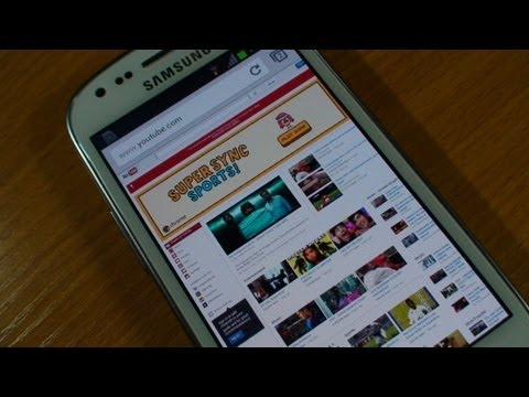 Chrome on Samsung Galaxy S3 Mini