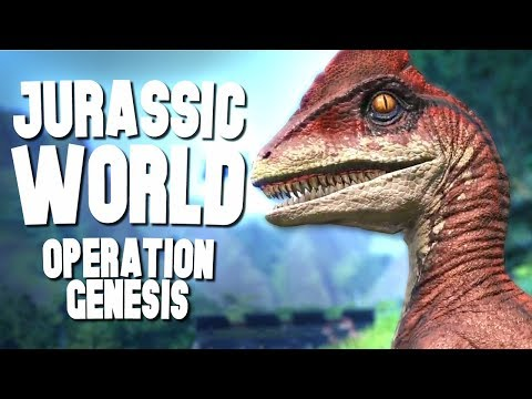 OPEN THE PARK GATES! - Jurassic World Operation Genesis