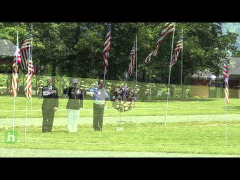 Memorial Day 2012 ceremony at Quantico National Cemetery