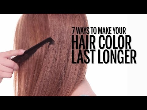 7 Ways to Make Your Hair Color Last Longer | Health