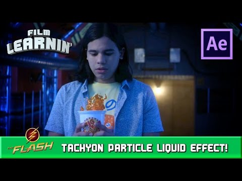 Tachyon Particle Floating Liquid After Effects Tutorial! | Film Learnin