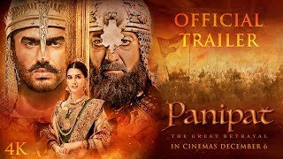 Panipat Official Trailer   Sanjay Dutt, Arjun Kapoor, Kriti Sanon   Ashutosh Gowariker   Dec 6