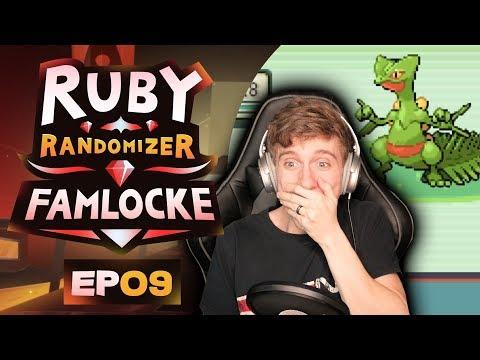 ALL GEN 3 STARTERS!?! | Pokemon Ruby Randomizer Famlocke EP 9