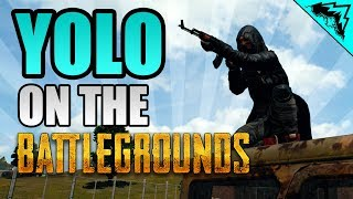 "Born Ready ""yolo On The Battlegrounds"" #6 Playerunknown"