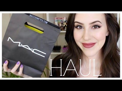Mac Makeup Haul 2015 - Beauty with Emily Fox