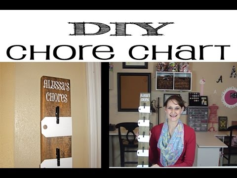 Chic DIY Chore Chart | #68