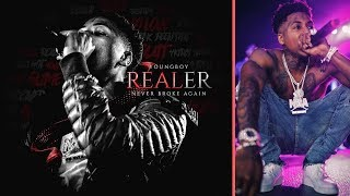 NBA YoungBoy Says REALER Is Coming 5 Days Before Christmas and YB Releases The Cover For The Mixtape